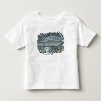 The Harbour and the Cobb, Lyme Regis by Moonlight Toddler T-shirt