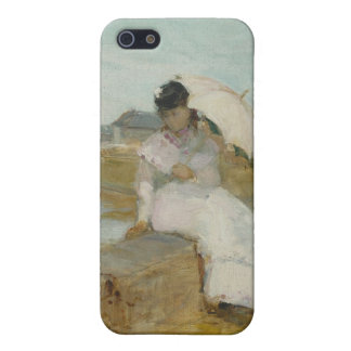 The Harbour at Lorient, 1869 (oil on canvas) iPhone 5 Case