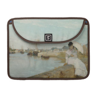 The Harbour at Lorient, 1869 (oil on canvas) MacBook Pro Sleeves