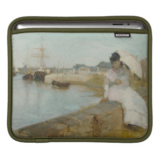 The Harbour at Lorient, 1869 (oil on canvas) Sleeve For iPads