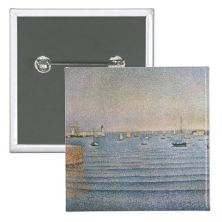 The Harbour at Portrieux, 1888 Pinback Buttons