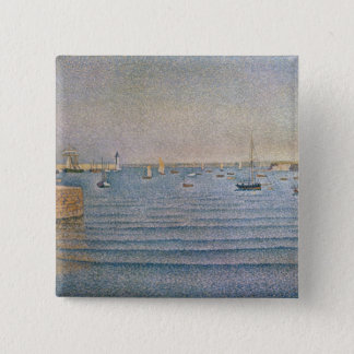 The Harbour at Portrieux, 1888 Pinback Button