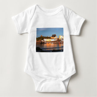 The Harbour At Tenby, South Wales Baby Bodysuit