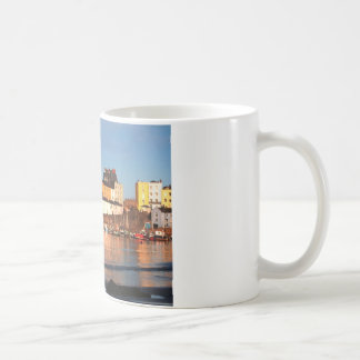 The Harbour At Tenby, South Wales Coffee Mug