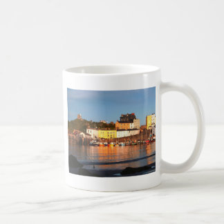The Harbour At Tenby, South Wales Mug