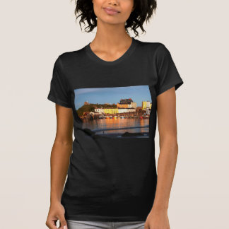 The Harbour At Tenby, South Wales T Shirt