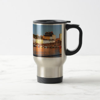 The Harbour At Tenby, South Wales Travel Mug