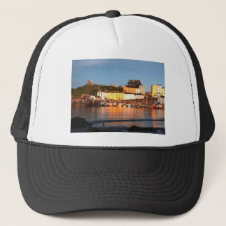 The Harbour At Tenby, South Wales Trucker Hat