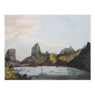 The Harbour of Taloo in the Island of Eimeo Postcard
