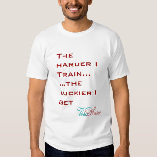The harder I train... Tee by Velo Atelier