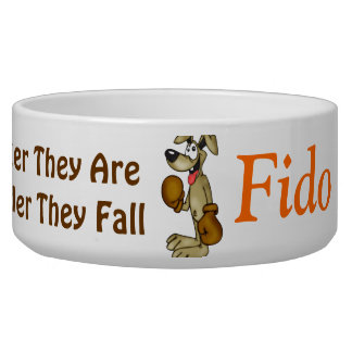 The Harder They Fall Customized Dog Bowls