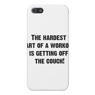 The Hardest Part of a Workout iPhone SE/5/5s Cover