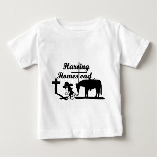 """The Harding Homestead """"Riding By Faith"""" Clothing Baby T-Shirt"""