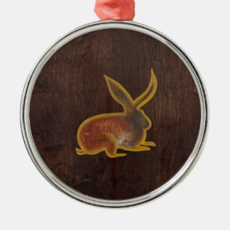 The Hare 2009 Metal Ornament