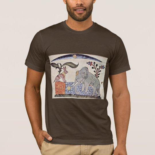 The Hare And The Elephant King In Front Of The Mir T-Shirt