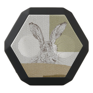 The Hare and the Tortoise An Aesop's Fable Black Bluetooth Speaker