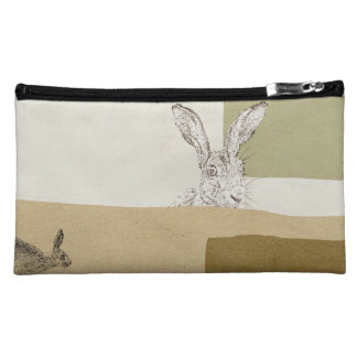 The Hare and the Tortoise An Aesop's Fable Cosmetic Bag