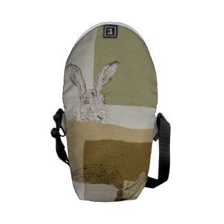 The Hare and the Tortoise An Aesop's Fable Courier Bag