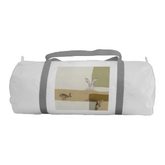 The Hare and the Tortoise An Aesop's Fable Duffle Bag