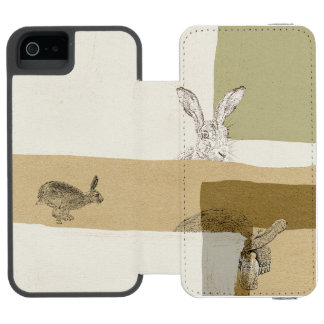 The Hare and the Tortoise An Aesop's Fable iPhone SE/5/5s Wallet Case