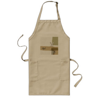 The Hare and the Tortoise An Aesop's Fable Long Apron
