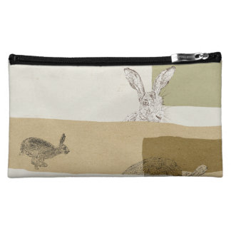 The Hare and the Tortoise An Aesop's Fable Makeup Bag