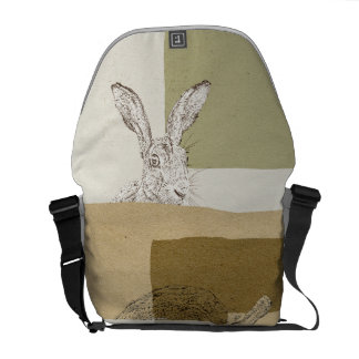 The Hare and the Tortoise An Aesop's Fable Messenger Bag