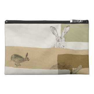 The Hare and the Tortoise An Aesop's Fable Travel Accessory Bags