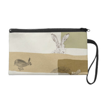 The Hare and the Tortoise An Aesop's Fable Wristlet Purse