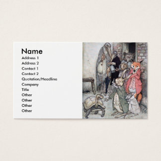 The Hare and the Tortoise Business Card