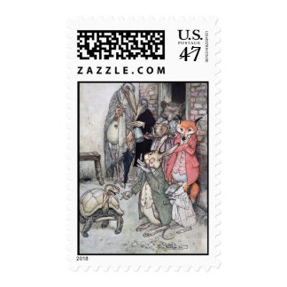The Hare and the Tortoise Postage