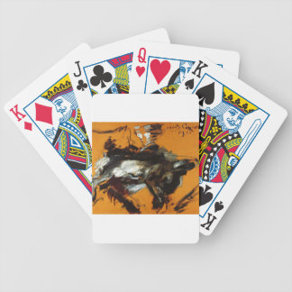 The Hare by Lovis Corinth Bicycle Playing Cards