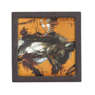 The Hare by Lovis Corinth Jewelry Box