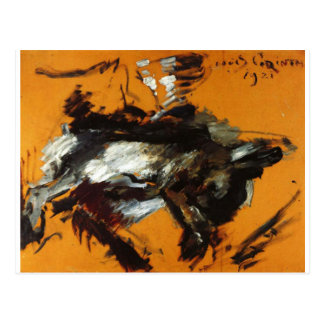 The Hare by Lovis Corinth Postcard
