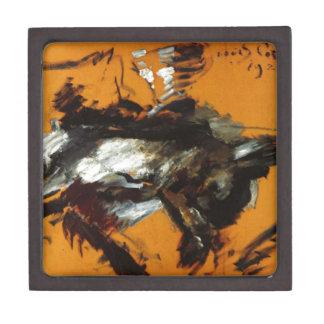The Hare by Lovis Corinth Premium Jewelry Box