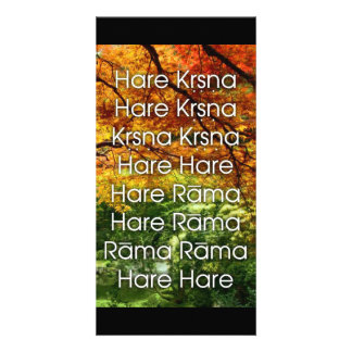 The Hare Krishna Mantra Card