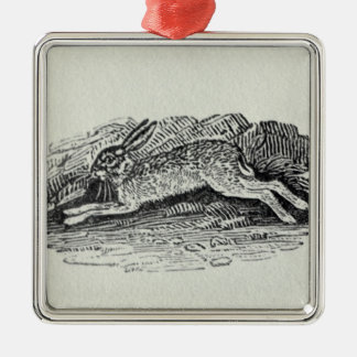 The Hare Metal Ornament