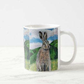 The Hare Basic White Mug