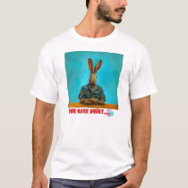 """The hare shirt..."" by Will Bullas T-Shirt"