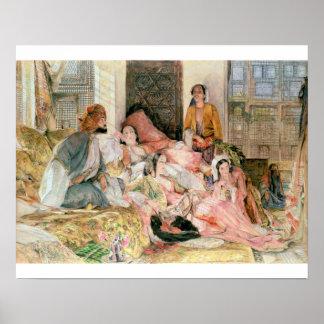 The Harem, c.1850 Poster