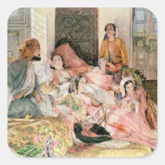 The Harem, c.1850 Square Sticker