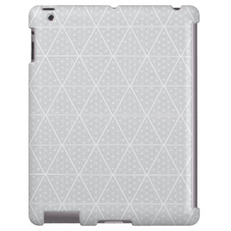 The Harem Grey Symbol Pattern iPad Case