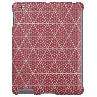 The Harem Red Symbol Pattern iPad Case