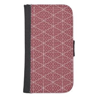 The Harem Red Symbol Pattern Samsung Wallet Case