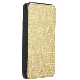 The Harem Symbol Gold Pattern Samsung Pouch Case