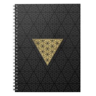 The Harem Symbol Pattern Spiral Notebook
