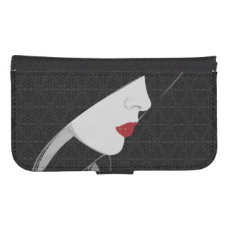 The Harem Woman and Pattern Samsung Wallet Case