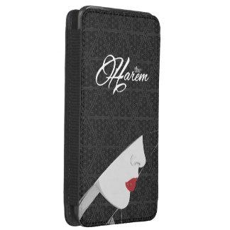 The Harem Woman, Logo & Pattern Samsung Pouch Case