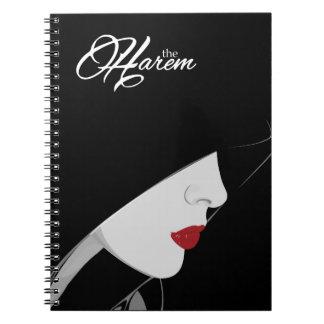 The Harem Woman & Logo Spiral Notebook