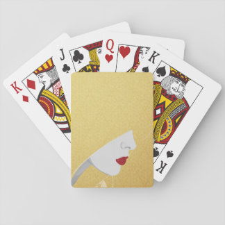The Harem Woman & Pattern Playing Cards